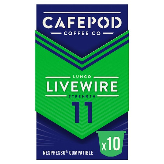 Cafepod Lungo Coffee Pods 10 Servings