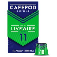 image 2 of Cafepod 10 Capsules Livewire Lungo Coffee 55G