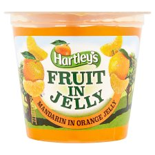 Hartleys Mandarin Orange Fruit In Jelly 120G