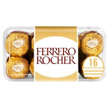 Ferrero Rocher 16 Pieces Boxed Chocolates 200G