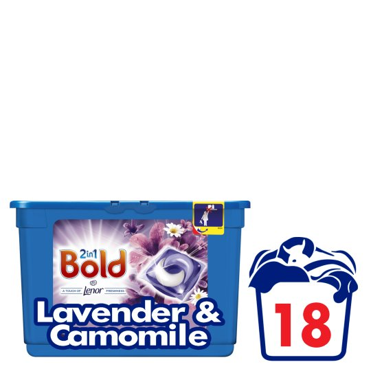 Bold Pods Washing Capsules Lavender 18 Washes