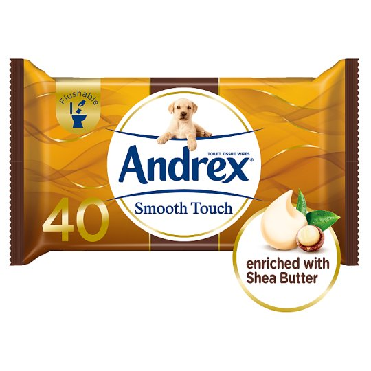 Andrex Washlets Smooth Touch