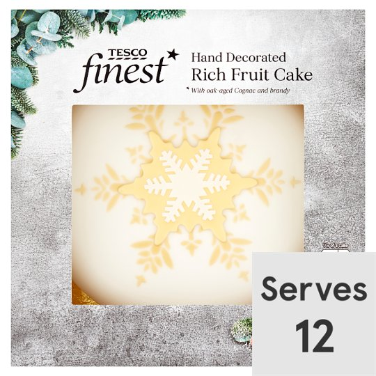 Tesco Finest Rich Fruit Cake 907G
