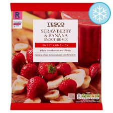 Tesco Strawberry And Banana Smoothie Mix 500G