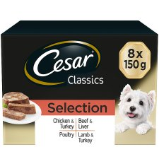 Cesar Tray Mvmp Classic Selection 8 X 150G Pack