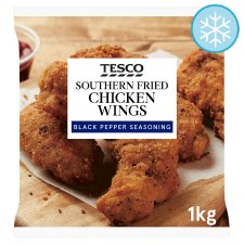 Tesco Southern Fried Chicken Wings 1Kg