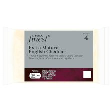 Tesco Finest Extra Mature English Cheddar 350 G