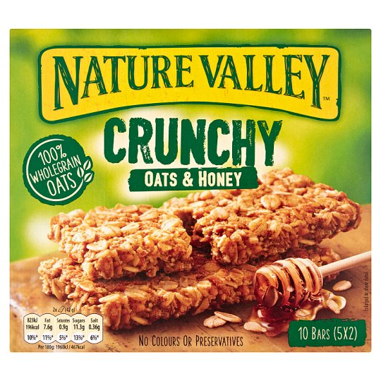 image 1 of Nature Valley Crunchy Granola Oats And Honey 5X42g