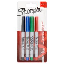 Sharpie Ultrafine Asstd 4 Pack