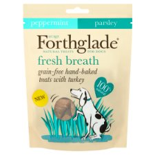 Forthglade Fresh Breath Peppermint Dog Treats 150G