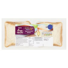Tesco Free From White Sliced Bread 400G