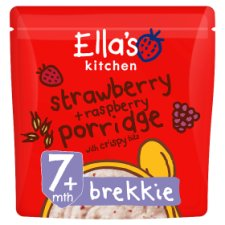 Ella's Kitchen Strawberry & Raspberry Porridge 175G