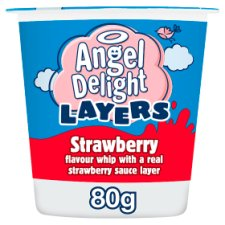 Angel Delight Layer Strawberry And Strawberry 80G