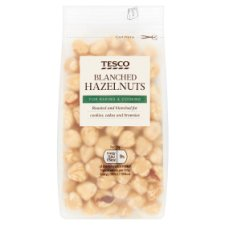 Tesco Whole Blanched Hazelnuts 100G