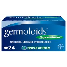 Germoloids Haemorrhoids 24 Suppositories