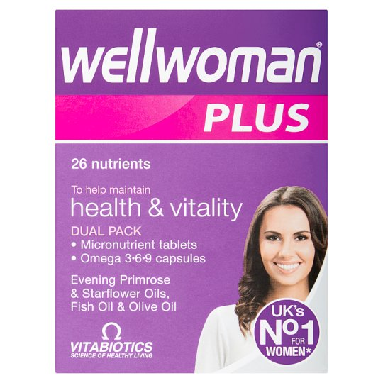 Wellwoman Plus Omega 369 Tablets X56