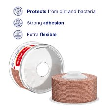 image 2 of Elastoplast Fabric Strapping 2.5Cm X 3M 1Pc