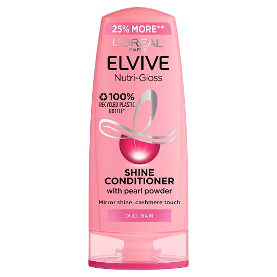 L'oreal Elvive Nutri-Gloss Shine Hair Conditioner 500Ml