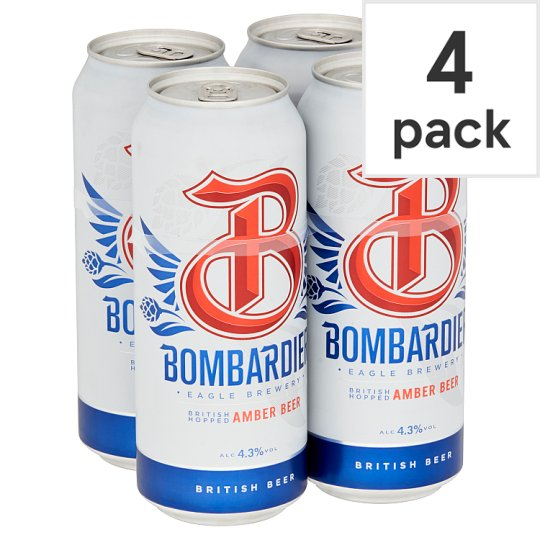Bombardier 4X500ml Can