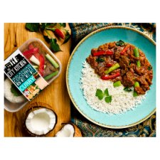 The City Kitchen Malaysian Beef Ready Meal 385G