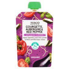 Tesco Vegetable Pasta Cheese Pouch 130G