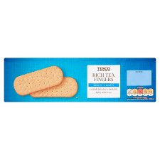 Tesco Rich Tea Finger Biscuits 250G