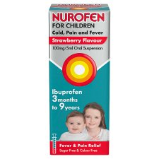 image 1 of Nurofen Children Cold And Flu Strawberry 100Ml