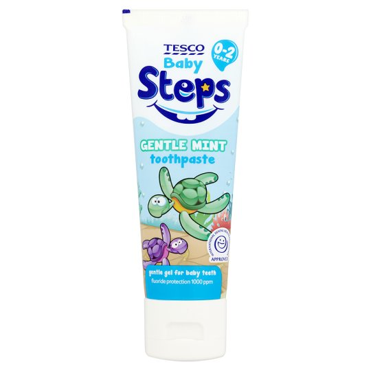 Tesco Steps Toothpaste 0-2 75Ml