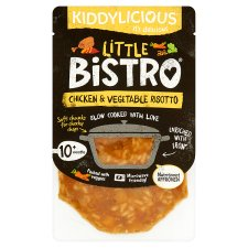 Kiddylicious Little Bistro Chicken And Vegetable Risotto 180G