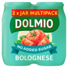 Dolmio Bolognese Multi Original Pasta Sauce No Added Sugar 2X500g