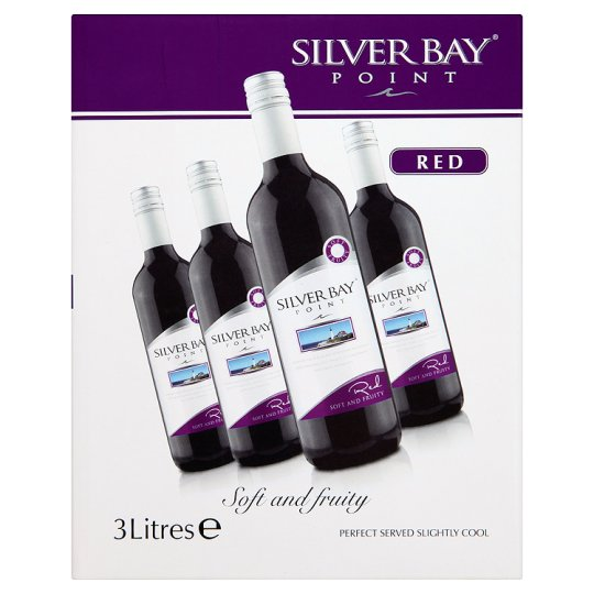Silver Bay Point Red 3 Litre