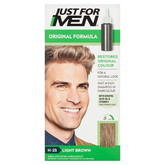 Just For Men Hair Colourant Natural Light Brown
