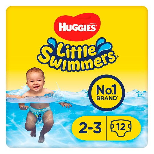 Huggies Little Swimmers Size 2-3 3-8Kg 12 Pants