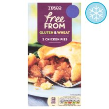 Tesco Free From 2 Chicken Pies 400G