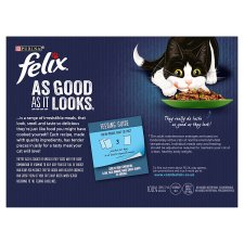 image 2 of Felix As Good As It Looks Cat Food Vegetable 12X100g