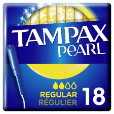 Tampax Pearl Regular Applicator Tampons 18