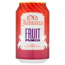 Old Jamaica Sparkling Fruit Punch Drink 330Ml