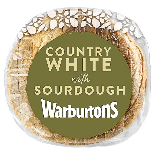 Warburtons Country White Bread 400G