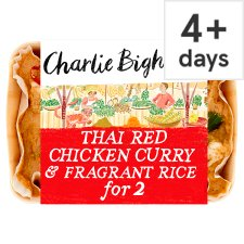 Charlie Bigham's Thai Red Chicken Curry And Rice 835G