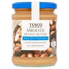 Tesco 100% Smooth Peanut Butter 280G