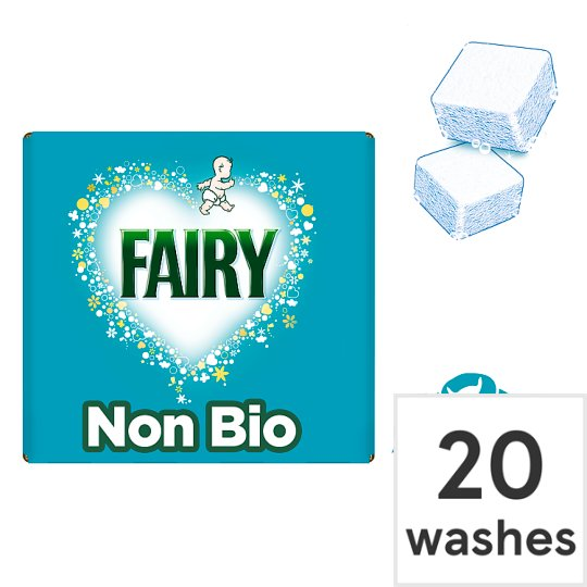 Fairy Non Biological Washing Tablets 40 Pack 20 Washes