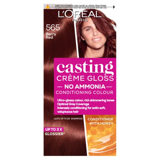 image 1 of L'oreal Casting Creme Gloss Berry Red 565 Hair Dye