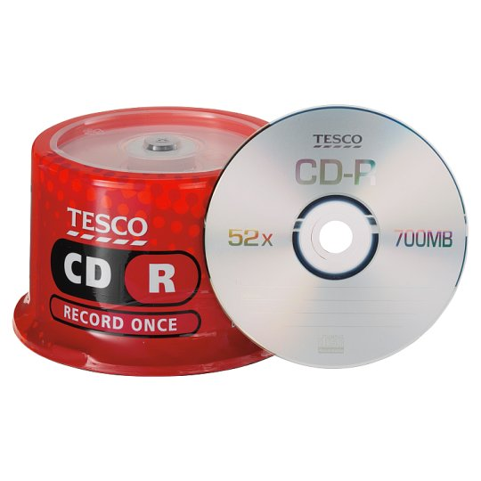 Tesco Cd-R 50 Disc Spindle