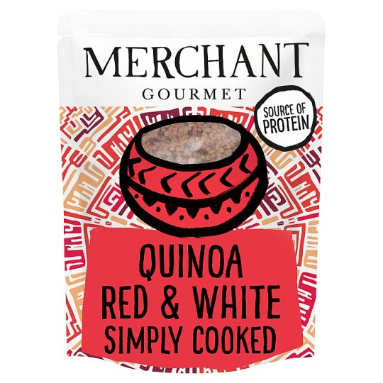 Merchant Gourmet Red And White Quinoa 250G