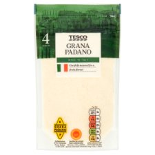Tesco Grated Grana Padano 100G