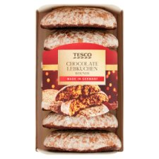 Tesco Chocolate Lebkuchen Rounds 200G