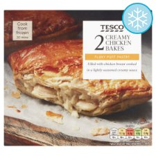 Tesco 2 Creamy Chicken Bakes 280G