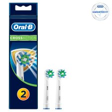 Oral-B Cross Action Replacement Electric Toothbrush Heads 2