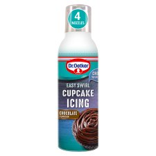 Dr. Oetker Easy Swirl Cupcake Icing Chocolate 180G