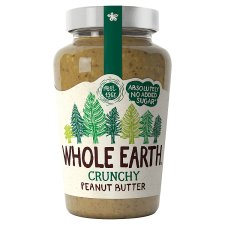 Whole Earth Crunchy Peanut Butter 454G